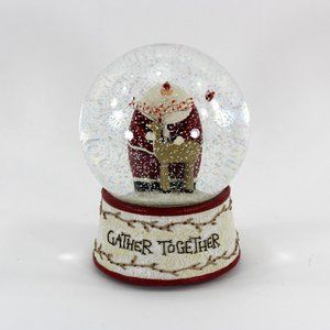 Nature of Christmas Snow Globe, Gather Together